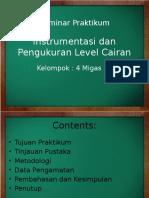 Instrumentasi Dan Pengukuran Level Cairan
