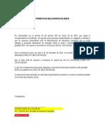 Formato No Declarantes de Renta PERSONAS NATURALES