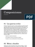 AP Spanish Composiciones