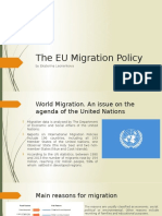 The EU Migration Policy