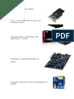 Orçamento Computador Designer