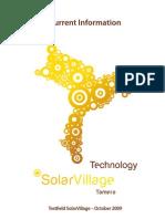 Testfield for Tamera SolarVillage