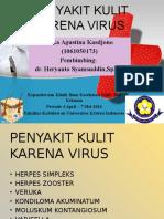 Penyakit Kulit Karena Virus
