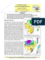 Food Security Early Warning System Agromet Update, issue 02, november 2015-2016