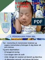 Memberikan Asuhan Pada Bayi Usia 2-6 Hari