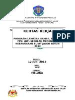 Baru Kertas Kerja lawata Melaka 2013