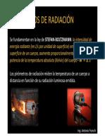 Pirómetros y Cámaras Termográficas