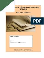 Cuaderno de Tecnicas de Estudios