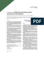 Persepcion de La Obesidad en Jovenes Universitarios y Pacientes Con TX de Conducta Alimenticia