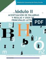 Comunicación Oral y Escrita Módulo II
