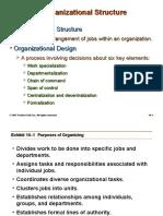 Organization Structure HR