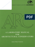 A laboratory manual for architectural conservators