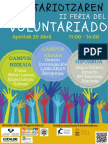 II Feria Voluntariado 20a