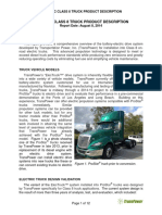 Electric Class 8 Truck Description TransPower 08-08-14