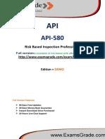 ExamsGrade API-580 Exam Questions Answers