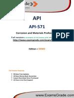 ExamsGrade API-571 Exam Questions Answers