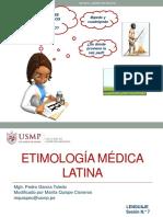Etimología Médica Latina