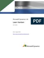 Microsoft Dynamics AX 2009 Lean Kanban