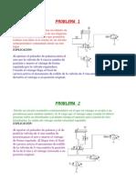 Explicación de problemas de circuitos neumáticos