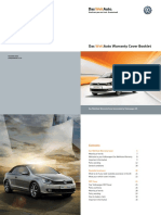 Vw Approved Used Cover Booklet