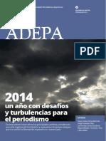 2014, un año con desafíos y turbulencias para el periodismo