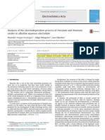 Analysis of the Electrodeposition Process of Rhenium and Rhenium Oxides in Alkaline Aqueous Electrolyte 2013 a. Vargas