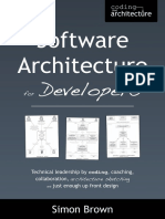 Software Architecture for Developers Sample