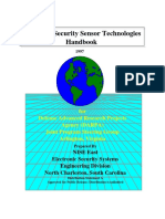 Perimeter Security Sensor Technologies Handbook
