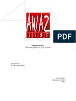 HRM Term Report - AWAZ Television