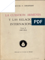 Pacual C Ohanian - La Cuestión Armenia y Las Relaciones Internacionales 2 (1897-1914)
