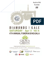 2016 Diamonds for Kale Program