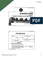 Distribusi Log Pearson III (P. Donny)