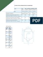 Especificaciones Técnicas Biodigestor Autolimpiable