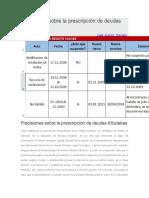 Precisiones sobre la prescripción de deudas tributarias.docx