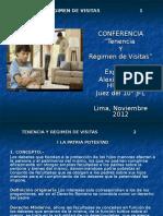 TENENCIA Y REGIMEN DE VISITAS[1].ppt
