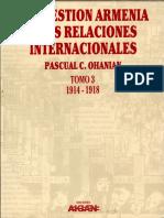 Pacual C Ohanian - La Cuestión Armenia y Las Relaciones Internacionales 3 (1914-1918)