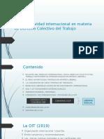 Derecho Del Trabajo II - Normatividad Internacional y Nacional en Materia de Derecho Colectivo de Trabajo