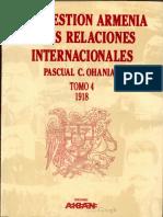 Pacual C Ohanian - La Cuestión Armenia y Las Relaciones Internacionales 4 (1918)