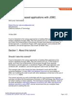 Jdbc in Webapp