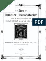 Ars Quatuor Coronatorum, Vol. 29.pdf