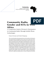 6 Nokoko 3 Community Radio Gender and ICTs in West Africa