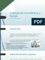 Evaluación Económica y Social