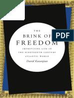 The Brink of Freedom by David Kazanjian