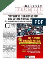 Boletim Informativo Estadual Abril 2016