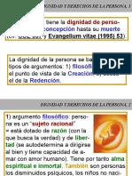 Curso de Doctrina Social de La Iglesia 02 Dignidad y Derechos de La Persona