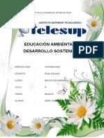 Educacion Ambiental y El Desarrollo Sostenible