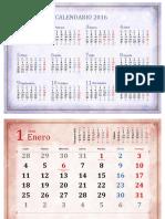 Escuela Calendario