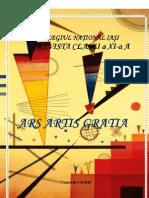 Revista Ars Artis Gratia - nr. 5-6 din 2010
