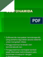 SULFONAMIDA.ppt