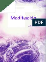 Meditacion Jiddu Krishnamurti